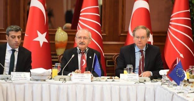 Kılıçdaroğlu AB Büyükelçileri İle Bir Araya Geldi
